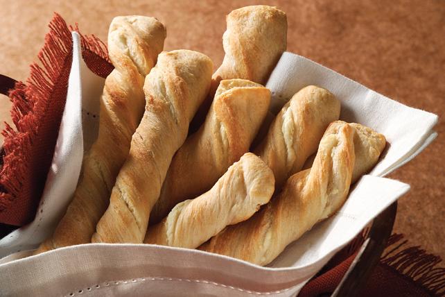 Bâtonnets de pain à l'ail Image 1