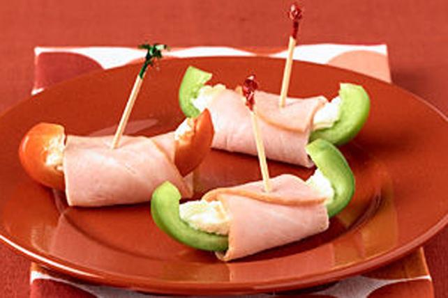 Roulés au jambon et au poivron Image 1