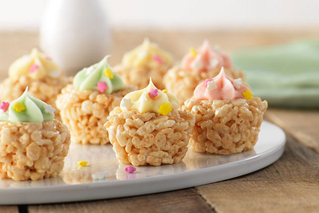 "Mini ""Cupcake"" Crispy Treats Image 1"