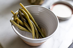 Refrigerator Dill Pickled Green Beans