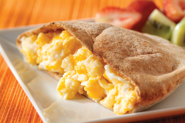 Cheesy Egg Scrambler