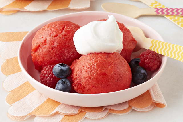 Berry Punch Sorbet
