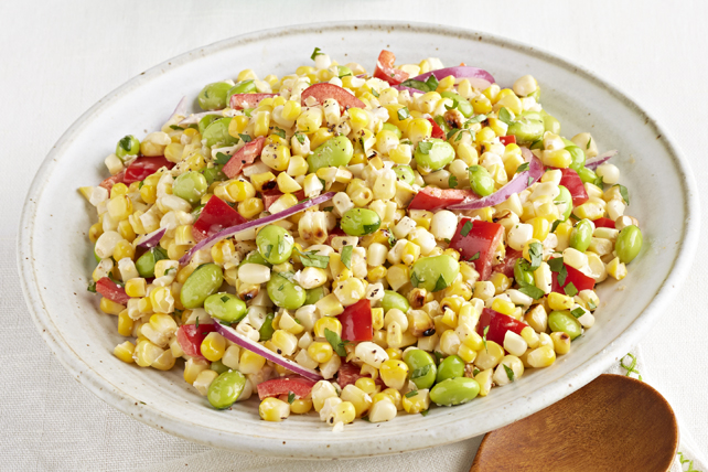Salade estivale au maïs frais grillé Image 1