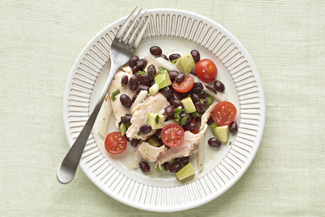 Salade de poulet et de haricots du Sud-Ouest Image 1