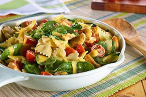 VELVEETA® One-Pan Chicken & Spinach Pasta