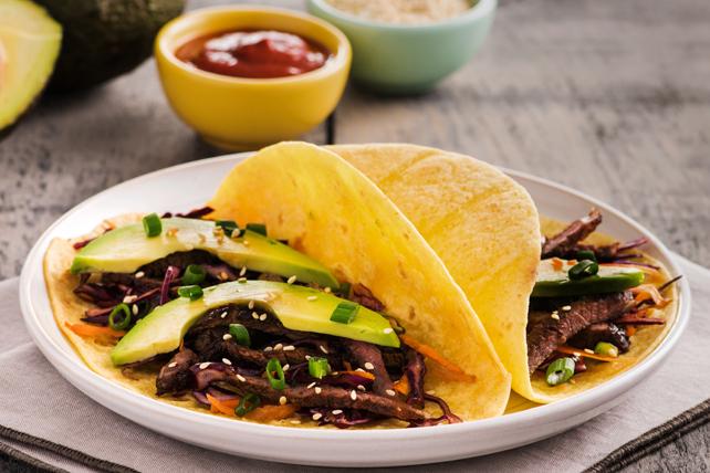 Tacos aux bouts de côtes à la coréenne Image 1