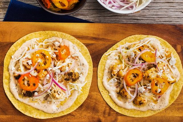 Tacos au chou-fleur Ranch croustillants Image 1
