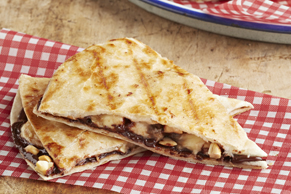 Chocolate-Banana Quesadilla