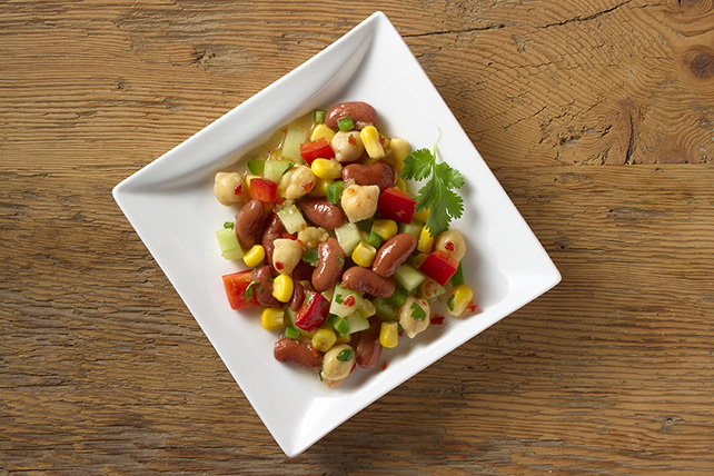 Spicy Corn and Bean Salad