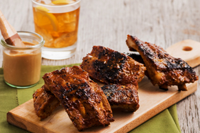 Chipotle Caesar Barbecue Ribs