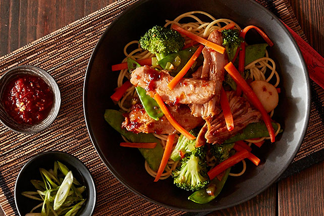 Slow Cooker Lo Mein