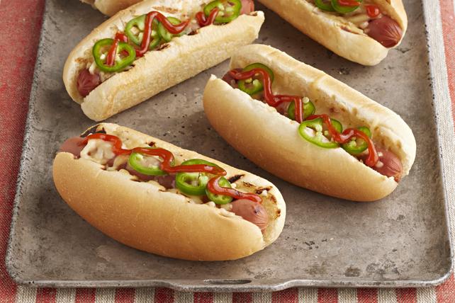 Hot dogs à la sauce Ketchup Sriracha Image 1