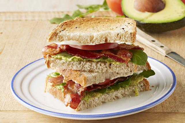 Sandwich au bacon, à l'avocat et aux tomates Image 1