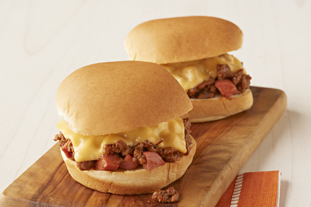 Chili Dog-Sloppy Joe Sliders Image 1