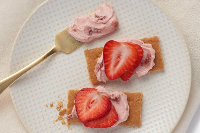Bouchées de biscuit graham aux fraises Image 1
