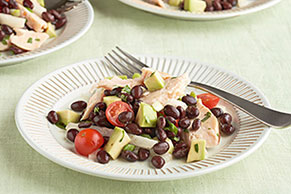 Southwest Chicken & Bean Salad