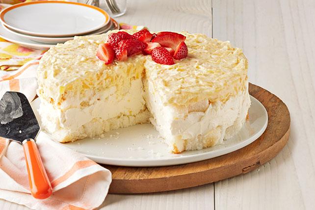 Postre sin hornear de cheesecake de piña  Image 1