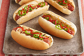 Sriracha Hot Dogs