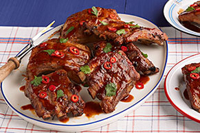 Thai-BBQ Slow-Cooker Ribs