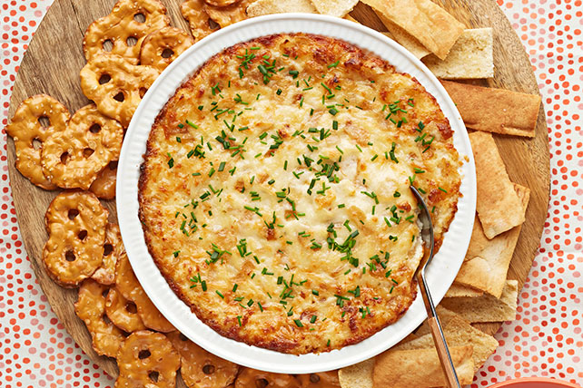 Dip de queso con cebolla acaramelada  Image 1