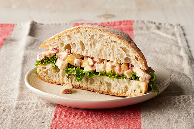 Mango-Chicken Salad Sandwiches Image 1