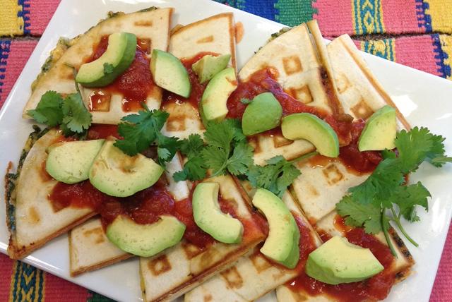 Quick Waffle Quesadillas Image 1