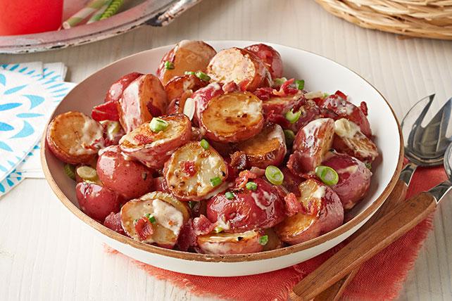 Picante ensalada de papas a la parrilla Image 1