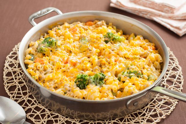 Macaroni et poulet au fromage Image 1