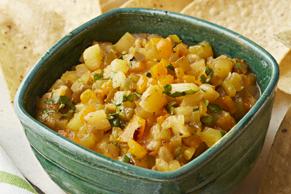Spicy Jalapeño-Pineapple Salsa