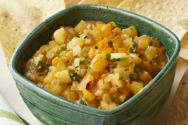 Salsa piquante aux piments jalapenos et à l'ananas Image 1