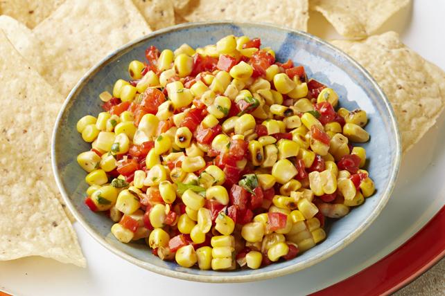 Salsa au poivron rouge et au maïs Image 1