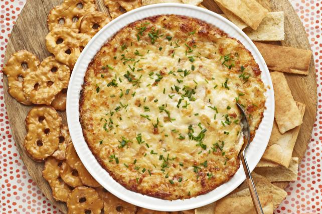 Trempette au fromage et à l'oignon caramélisé Image 1