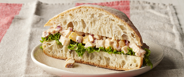 Mango-Chicken Salad Sandwiches