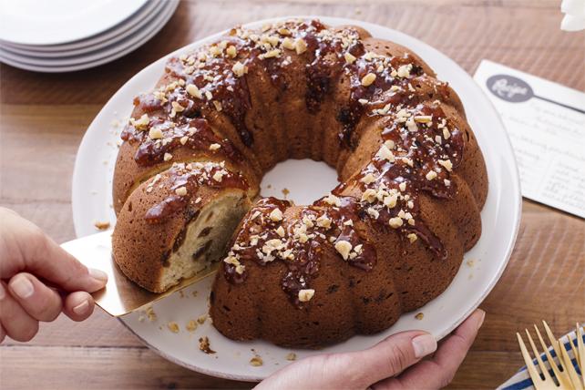 Gâteau danois aux figues et aux noix Image 1