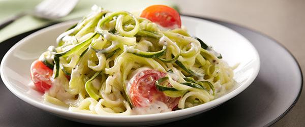 "Zucchini ""Zoodle"" Alfredo"