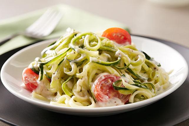 "Zucchini ""Zoodle"" Alfredo Image 1"