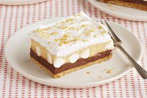 Dessert au chocolat et au beurre d'arachide sans cuisson