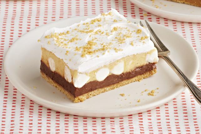 Dessert au chocolat et au beurre d'arachide sans cuisson Image 1