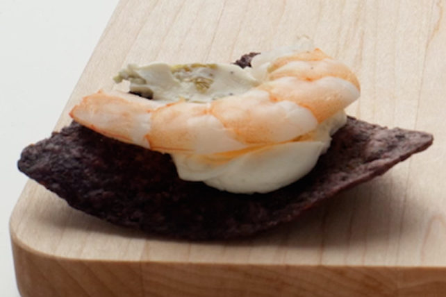 Tostaditas épicés aux crevettes Image 1