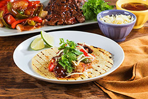 Easy Grilled Steak Fajitas