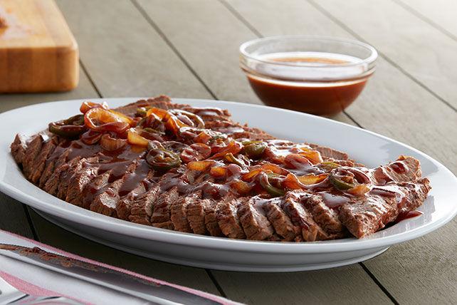 Barbecued Beef Brisket Image 1