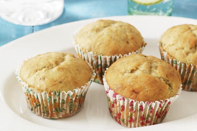 Muffins aux bananes et à la crème sure Image 1
