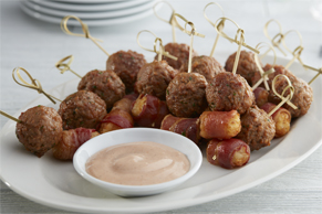 Meatball-Potato Bites