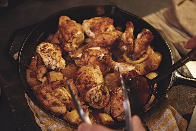 Lemon-Roasted Tuscan Chicken Image 1