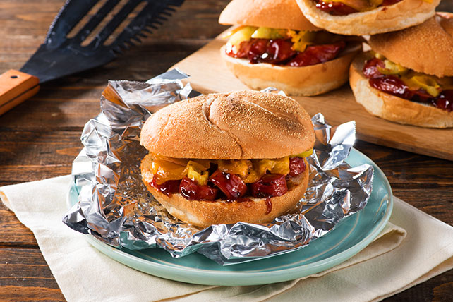 Memphis-Style Sausage and Cheese Sandwiches Image 1