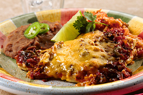 Green Chili-Baked Chicken