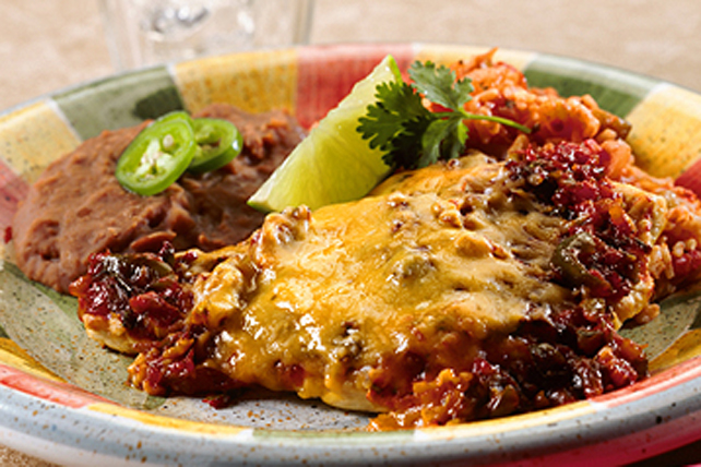 Poulet aux chilis verts cuit au four Image 1