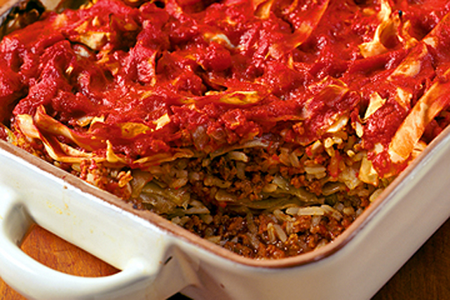 No-Fuss Cabbage Roll Casserole Image 1