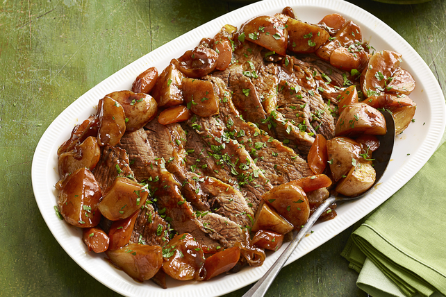 Pointe de poitrine de bœuf barbecue cuite au four Image 1