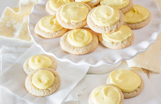 PHILADELPHIA Cream Cheese-Lemon Thumbprint Cookies